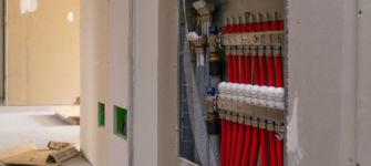 collettore impianto termico a pavimento